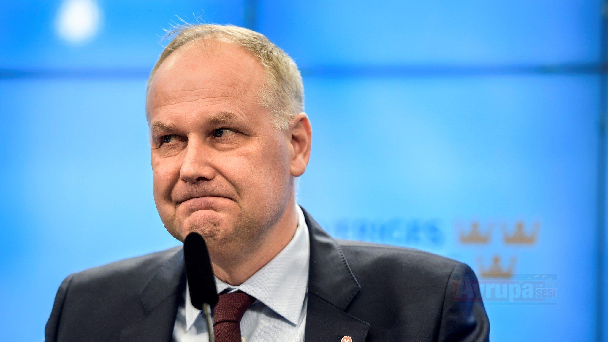 İsveç Sol Parti Başkanı Jonas Sjöstedt