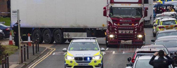 İngiltere'de 39 cesedin bulunmasıyla kurbanların kimliklerini tespit çalışması sürüyor