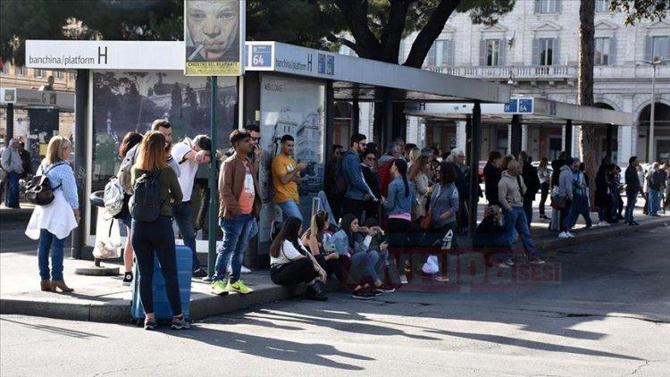 Roma'da belediye işçilerinin grevi hayatı olumsuz etkiledi