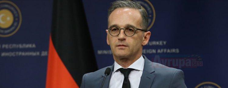 Almanya Dışişleri Bakanı Maas: Almanya için Türkiye çok önemli bir NATO müttefiki