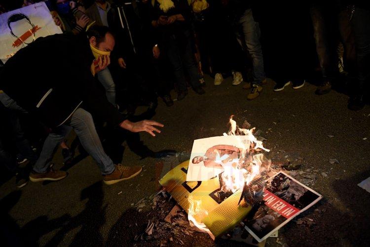 Katalonya'da İspanya Kralı protesto edildi