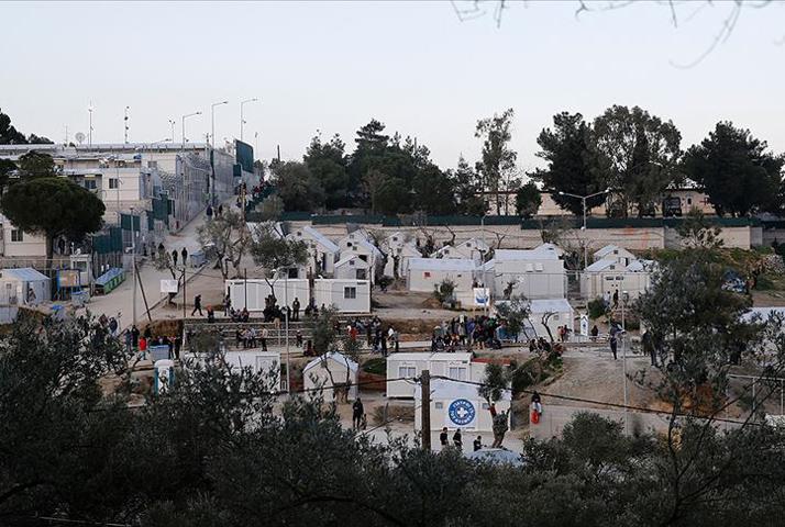 Yunanistan Midilli adasında mülteci kampında bebek ölü bulundu