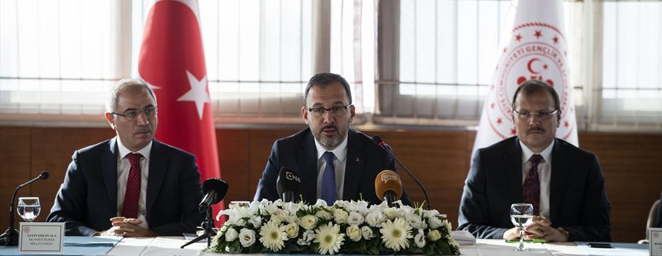 Gençlik ve Spor Bakanlığından Bursa'ya büyük yatırım yatırım