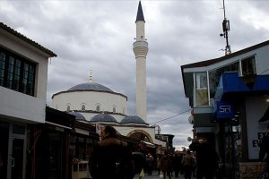 107 yıl sonra Ohri Ali Paşa Camisi'nde ezan okundu