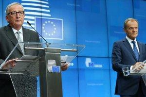 Görevi biten AB Komisyonu Başkanı Juncker ve Tusk enkaz devretti