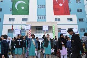Pakistan'da 15 bin 755 öğrenci Maarif okulları matematik olimpiyatlarına katıldı