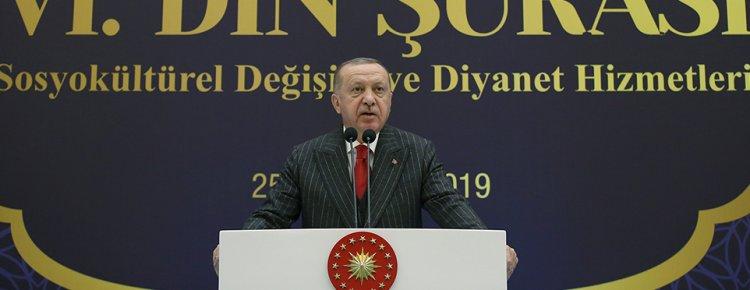 """Cumhurbaşkanı Erdoğan: """"Gurbette yaşayan insanımızı sahipsiz bırakamayız"""""""