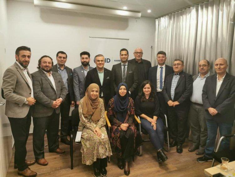 UID Genel Başkanı Bilgi, Hamburg teşkilatı ile bir araya geldi