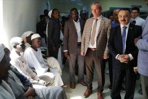 Türkiye'nin Sudan'da yaptırdığı hastane çevre ülkelere şifa dağıtıyor