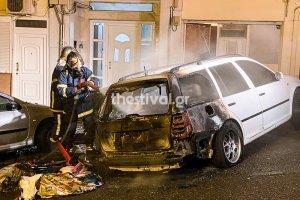 Türkiye'nin Selanik Başkonsolosluğu'nda görevli bir diplomata ait aracı yaktılar