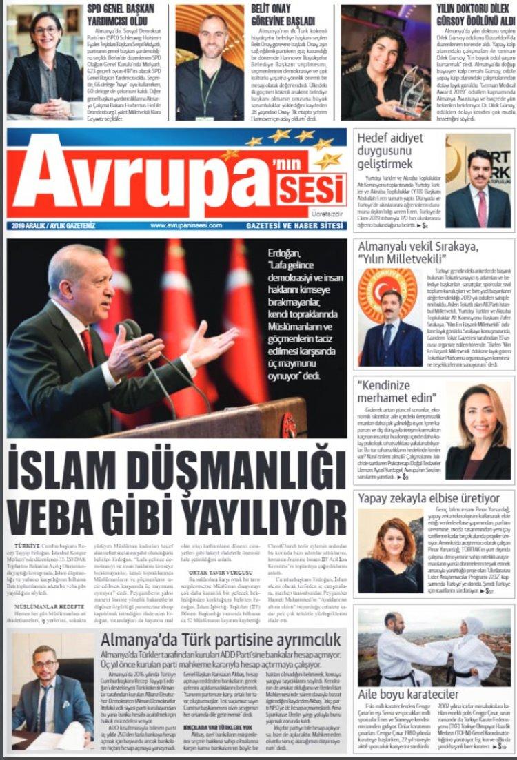 Avrupanın Sesi Gazetesi