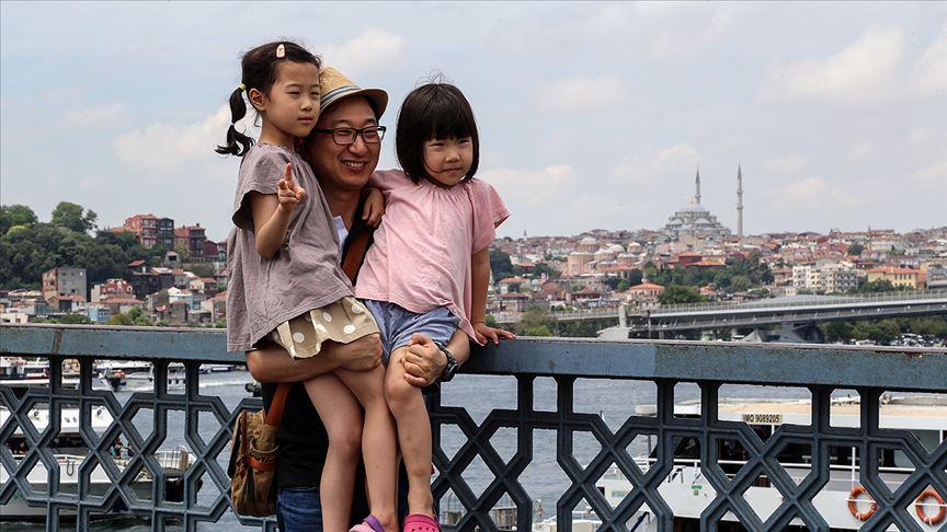 Türkiye'yi 11 ayda yaklaşık 43 milyon yabancı ziyaret etti