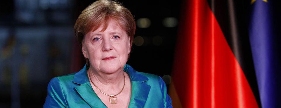 Almanya Başbakanı Merkel'den yeni yıl mesajı