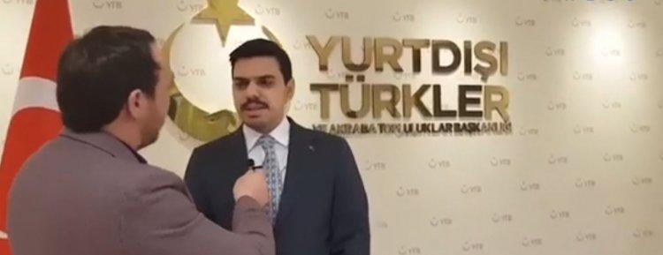 """Eren, """" Azerbaycan ve Türkiye dost ve kardeş iki ülke. Biz iki devlet tek milletiz"""""""