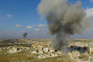 Esed rejiminin İdlib'deki hava saldırılarında 6 kişi hayatını kaybetti