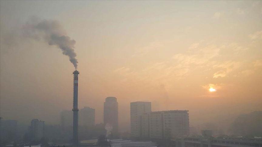 Bosna'da hava kirliliği seviyesi arttı