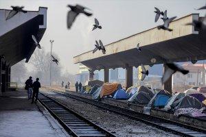 Batı Avrupa ülkelerine uzanan umut yolculuğu Bosna Hersek düzensiz göçmenlerin