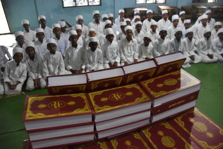 Hindistan'da yerel halka 5 bin Malalayamca Mealli Kur'an-ı Kerim dağıtıldı