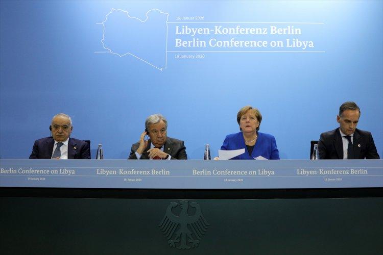 Almanya Başbakanı Merkel: Libya için kapsamlı bir plan konusunda anlaştık
