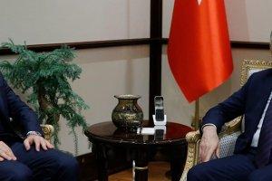Sırakaya, Cumhurbaşkanı Yardımcısı Fuat Oktay'ı ziyaret etti