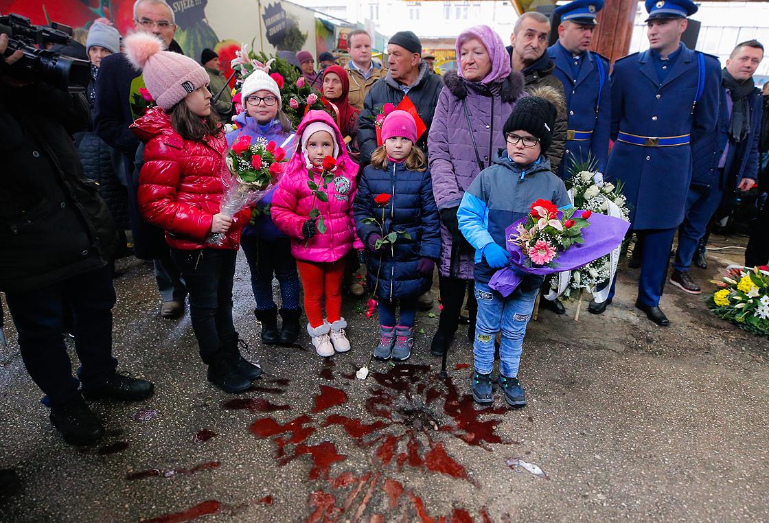 Bosna savaşında hayatını kaybeden Markale  kurbanları anıldı