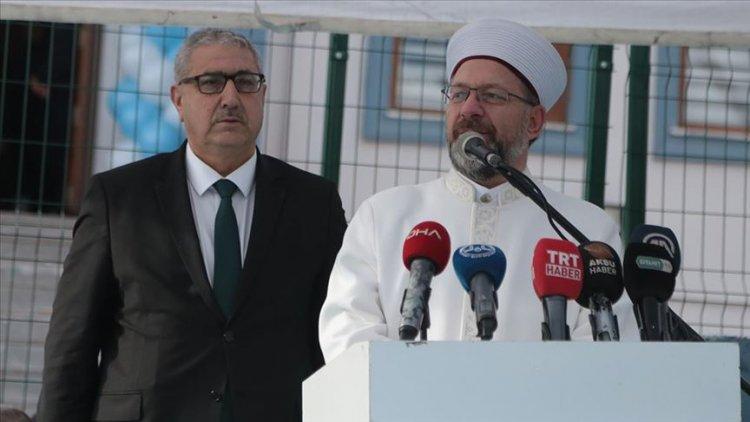 Erbaş: Kur'an kurslarımız, kötülüklerden insanları uzaklaştırmanın merkezleridir