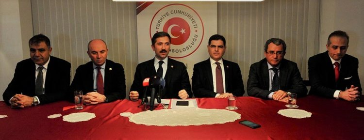 Yurtdışı Türkler ve Akrabalar Topluluğu Alt Komisyonu Almanya temaslarını bitirdi