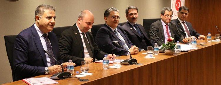 Yurtdışı Türkler ve Akrabalar Topluluğu Alt Komisyonu stk temsilcileri ile Brüksel'de buluştu