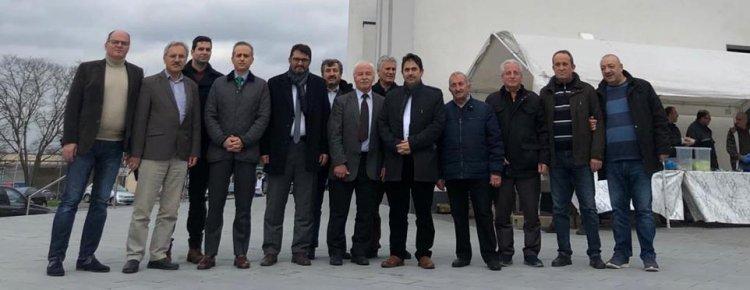 Başkosolos Erciyes'ten Yunus Emre Camii'ne geçmiş olsun ziyaretti