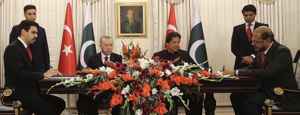 Türkiye Ve Pakistan Arasında Diaspora İşbirliği protokolu imzalandı