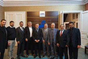 UID Genel Başkanı Bilgi, Bielefeld teşkilatı ile bir araya geldi