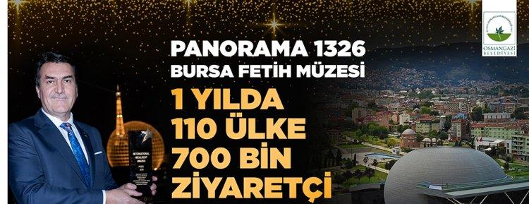 Panorama 1326 Bursa Fetih Müze'si 750 bin kişiyi ağırladı