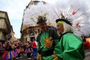 Hırvatistan'da 37. Uluslararası Rijeka Karnavalı büyük ilgi gördü
