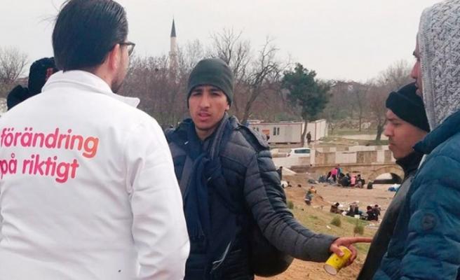 Avrupa'ya gitmeye çalışan sığınmacılara mesaj verildi İsveç'e gelmeyen