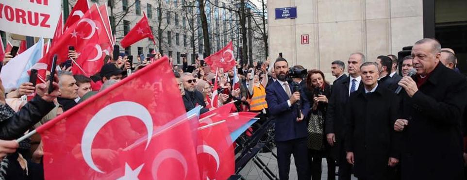 Erdoğan: Avrupa ve Türkiye arasındaki ilişkileri çok daha iyi noktaya taşıyalım istiyoruz