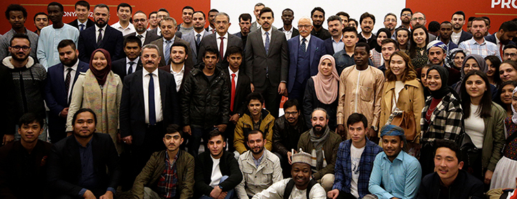 YTB Başkanı Eren'den uluslararası öğrencilere ilişkin açıklama