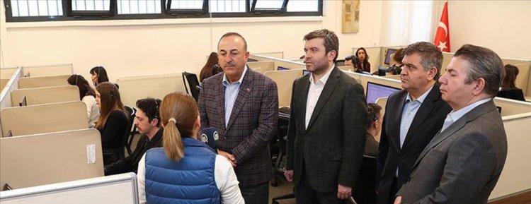 Bakan Çavuşoğlu: Koronavirüsle ilgili bir koordinasyon merkezimiz 24 saat hizmet veriyor