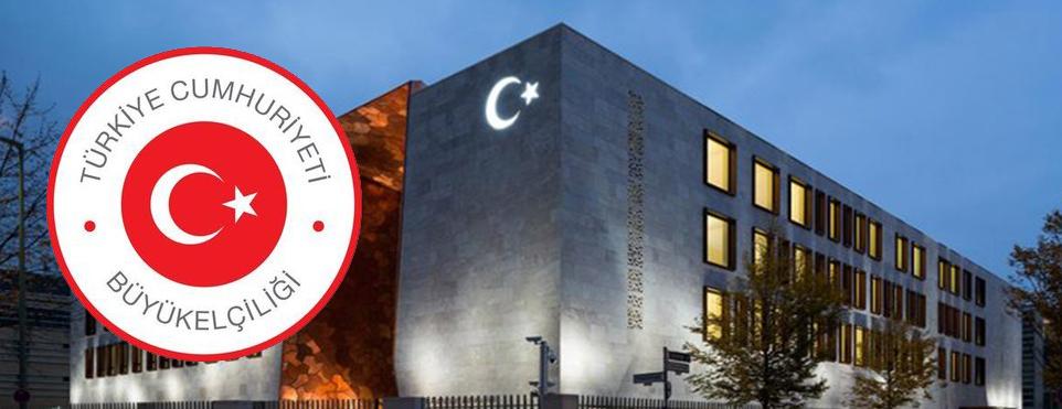 Berlin Büyükelçiliği'nden Duyuru