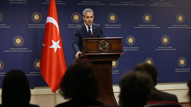 Türkiye'den Yunanistan Dışişleri Bakanı Dendias'ın açıklamalarına tepki