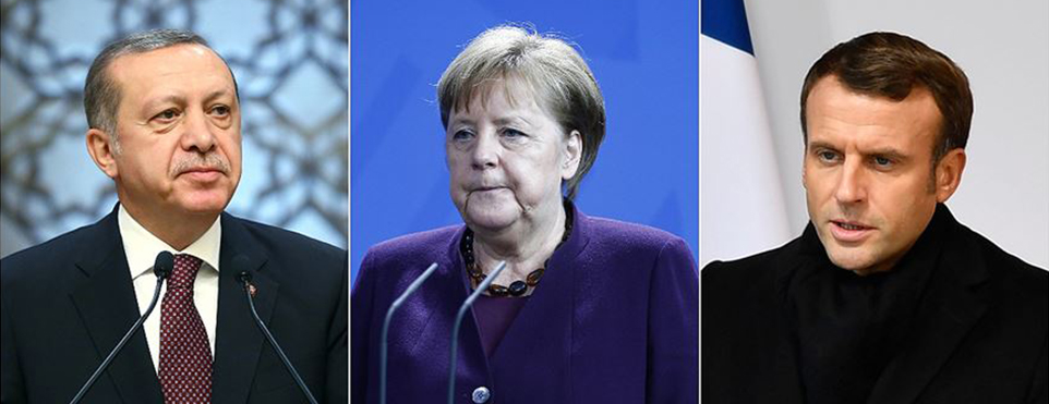 Türkiye-Almanya-Fransa zirvesinde yol haritası belirlenecek