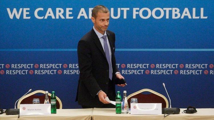 UEFA Başkanı Ceferin, 2020 futbol sezonunda üç seçenek var