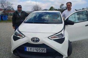 TOYOTA Kozlukebir Belediyesi'ne araba bağışladı