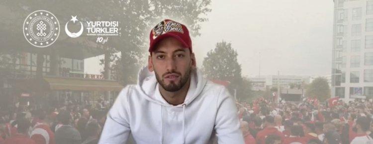 """Milli futbolcu Çalhanoğlu'ndan""""Virüse pas yok, evde kalıyoruz"""""""