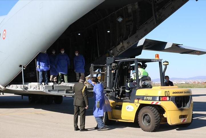 Büyük Türkiye'nin gönderdiği tıbbi yardım malzemeleri Kosova'ya ulaştı