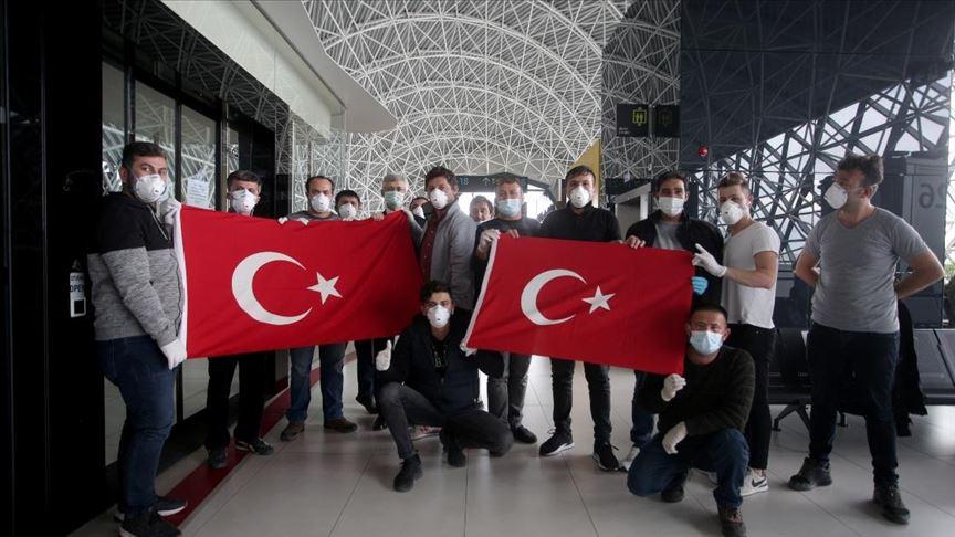 THY düzenlediği özel seferle Hırvatistan'dan Türkiye'ye hareket etti