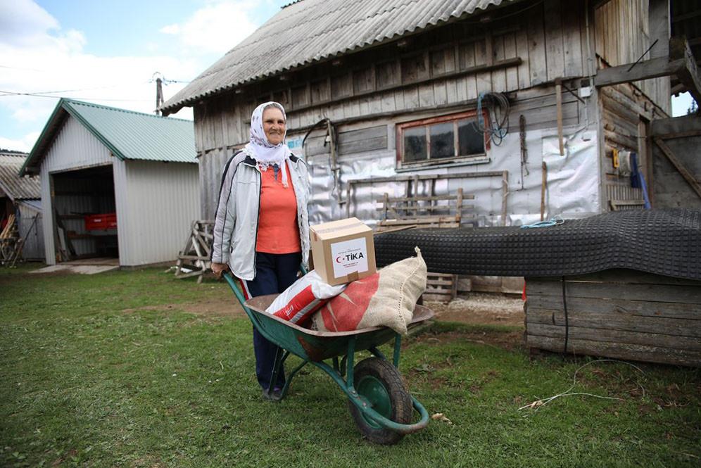 TİKA Balkanlar'da gıda ve yaşam güvenliği programını genişletiyor