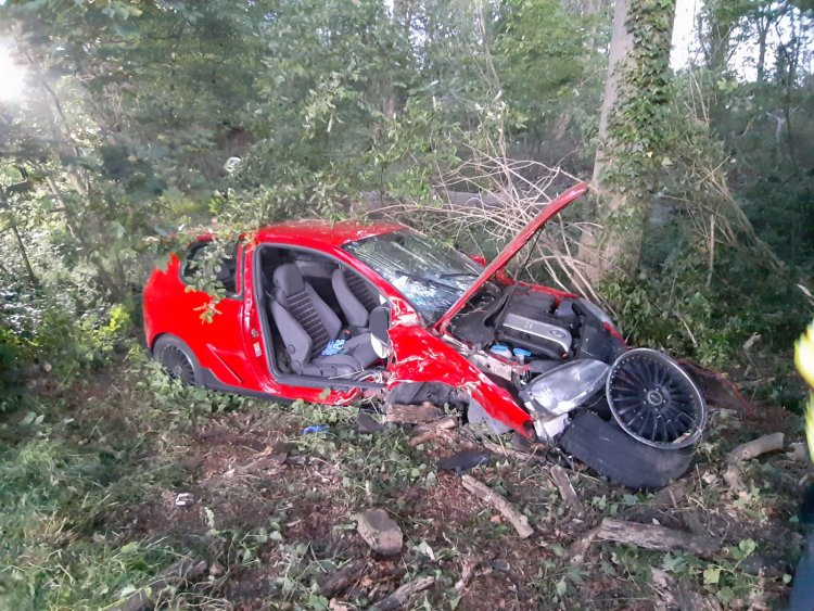 Aracın şoförü kayıplara karıştı