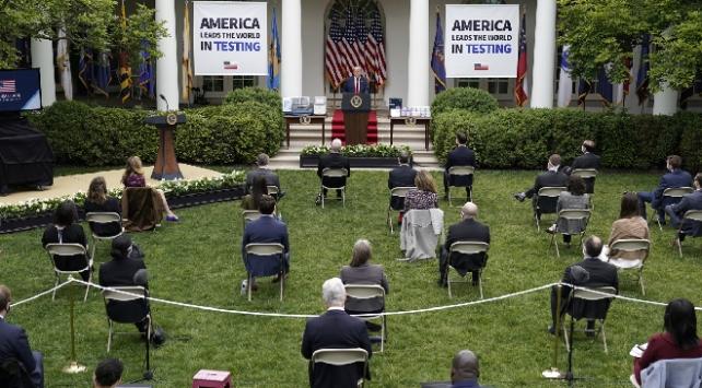 Beyaz Saray'da gazetecilere test uygulaması
