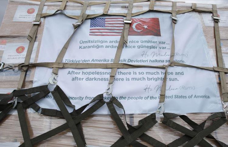 FEMA Başkanı Gaynor Türkiye'ye tıbbi yardım malzemeleri için teşekkür etti