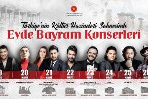 Cumhurbaşkanlığınca başlatılan '7 Tepeden 7 Kıtaya' konserleri ramazanda ve bayramda devam edecek